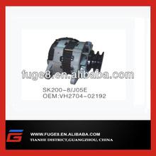 Hino J05E engine parts for Kobelco SK200-8 excavator alternator