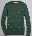 Marca máquina de malha de lã personalizados/cashmere/acrílico sweater pullover