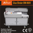 18 year CE ISO Boway 960V 60mm thickness holt-melt perfect binder automatic