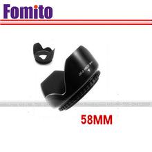 58mm screw mount lens hood for canon