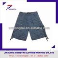 6 bolsillo de carga de la moda de la ropa del tinte pantalones cortos y pantalones