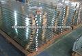 Northglass max. Tamanho grande 3300x18000mm 12mm painel colorido ou transparente de vidro temperado
