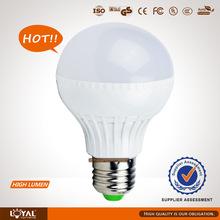 e27 led lamp bulb 9w CE&RoHs Certificate china manufacturer