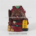 resina mini deus da riqueza estatueta