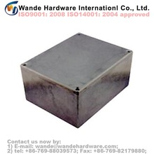 Thin Wall Diecast Aluminium Project Box Enclosures 188x120x57mm China Suppliers