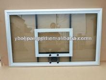 transparent laminated glass basketball backboard,steel basketball backboard