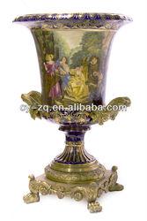High Quality Elegant classical Home decoration High Quality Porcelain arts-Sevre style vases