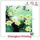 beautiful flower design lenticular PP/PET 3d picture