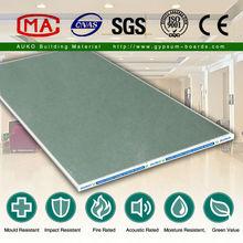 Exterior Drywall Material Waterproof Plasterboard/Gypsum Board/Drywall/Ceiling Board 2400*1220*9mm
