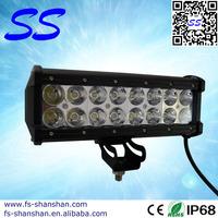 9.5inch 48w LED Off Road Work light Bar,mitsubishi pajero accessories,led work light,ss-5048