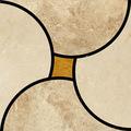 españa crema marfil de mármol de chorro de agua del templo de los diseños para la decoración del hogar