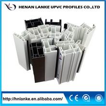çin upvc/pvc pencere ve kapı/plastik resim çerçevesi profilleri/inşaat malzemeleri fiyat