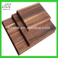 walnut wooden serving board