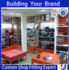 Custom Retail Fixturing for hanbag chain store shopping mall stand