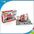a656169 monta estacionamento carro modelo do brinquedo brinquedo estacionamento garagem