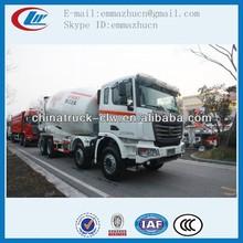 Bonne qualité! C & C 12 roues bétonnière camion à vendre
