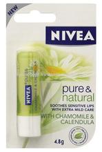 NIVEA LIPSTICK PURE & NATURAL 4.8G