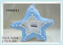 Polyresin Sea Treasures starfish Picture frame place Card holder party favor