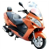 260 Super Scout 4 Stroke Moped Scooter