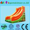 small inflatable slides,carton printing inflatable kids slides