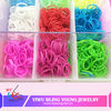 Newest hot selling colorful loom kit for bracelet BY041303