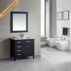 Hot sell new stylish bathroom cabinet with towel bar