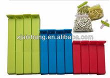 European Fashionable First Rate High Quality food grade plastic bag sealer clip Bpa free
