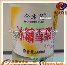 customized printing Food & beverage heat shrink sleeve label