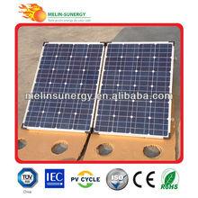 120W folding solar cell panel kit