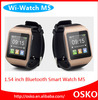 1.54'' touch screen smart watch phone mobile