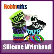 wrist bands silicone