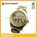 vogue senhora assistir genebra relógio de quartzo china réplica relógio de pulso de ouro 2014