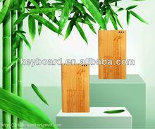 Shenzhen new power bank Capacity 10400mAh made by bamboo-- andy