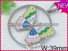 Wholesale charm locket stainless steel pendant jewelry pendant control