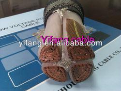 100% copper conductor low voltage cable 0.6/1KV XLPE power cable