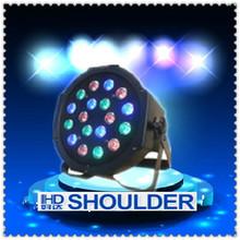 RGB LED Mini Moving Head Spot Lighting Disco DJ Show Stage Light 18*3W DMX/Auto