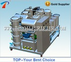 Intelligent Black and Waste Lubricating Oil Process Machine, get base oil,restore black to original yellow