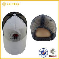 6 panels polyester caps/sport polyester mesh caps/polyester visor cap