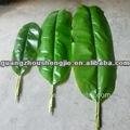 Artificial de la hoja/artificial de árboles de banano de la hoja/fake banana hojas de los árboles