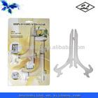 2pcs 16.3cm plastic decorative display easels