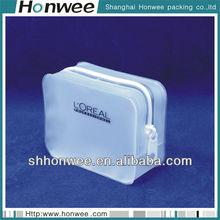 2014 heat seal fashional eva velvet pouch with zipper