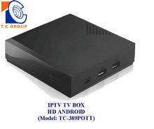 IPTV TV BOX HD ANDROID (TC-389POTT)