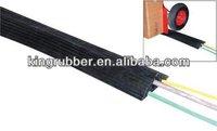 Non conductive rubber cable protectors