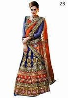 Latest Embroidery Designer Saree Sari