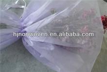 crystal organza flower bouquet sleeve