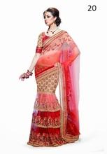 Bridal saree blouse designs