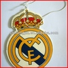 Real Madrid football club car air freshener black ice scent