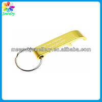 Personalized Gifts Yellow Claw Kering metal keychain bottle opener