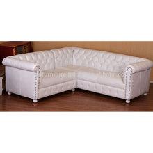 Leather Corner L Shape Sofa