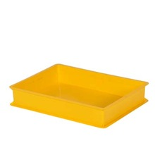 Plastic bread serving tray
